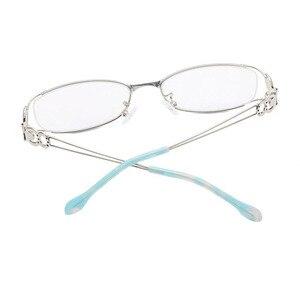 Image 5 - Gafas con montura completa de aleación para mujer, gafas de marca graduadas, a la moda, para mujer