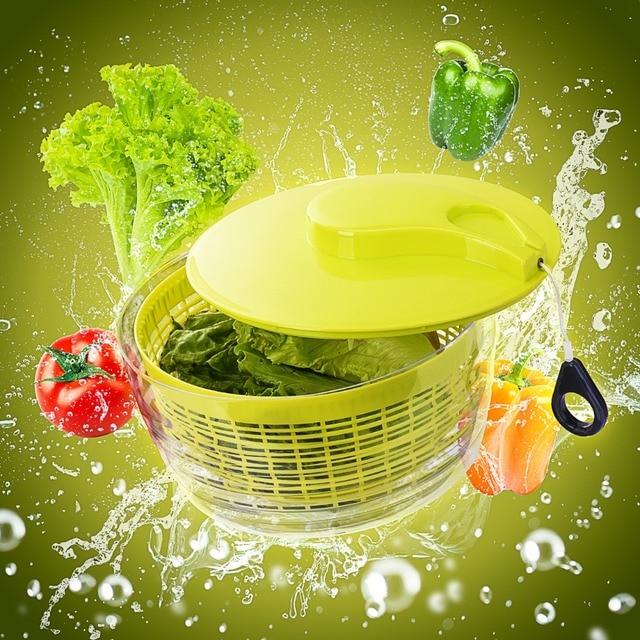 Pictek Salad 5 Quart Large Vegetable Spinner Multipurpose