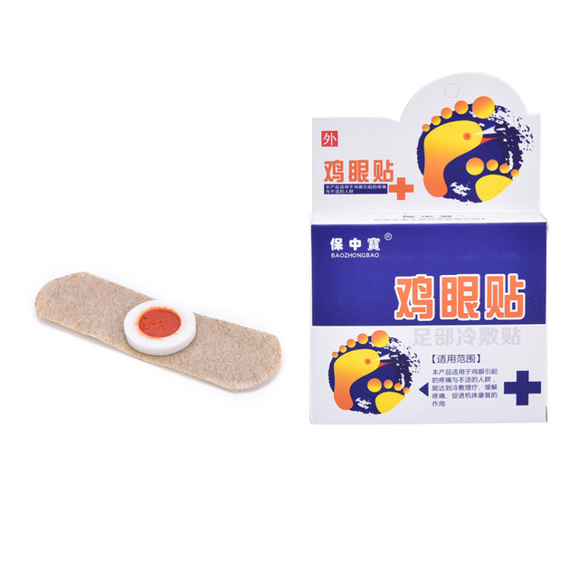 Feet Corns Removal Patch Quick Pain Relief Warts Remover And Treat