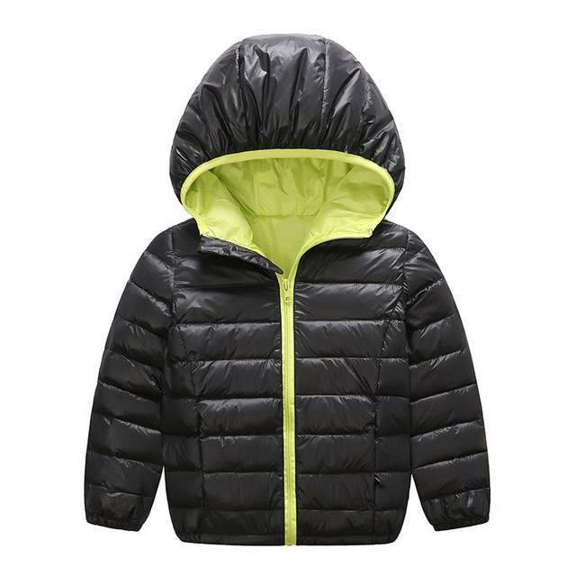 New Boys Girls Winter Coat Children Down Jacket Long Sleeve Windproof Outerwear Fashion Clothing Warm Parka For Kids Dress 2016