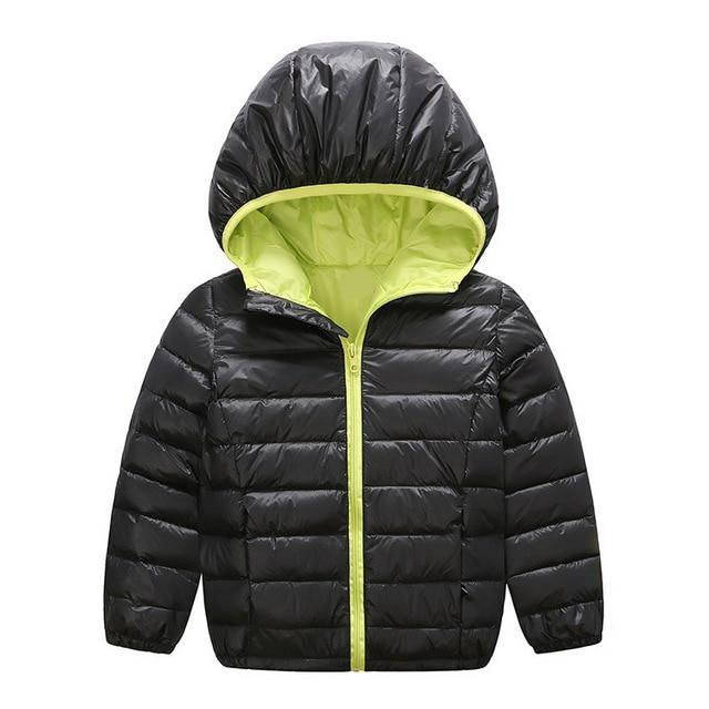 New Boys Girls Winter Coat Children Down Jacket Long Sleeve Windproof Outerwear Fashion Clothing Warm Parka For Kids Dress 2016