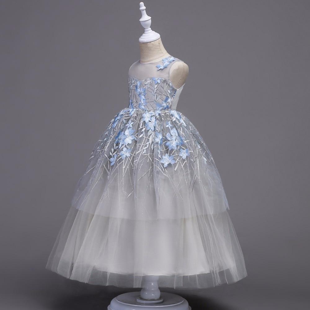5 18 T Sommer Mädchen Kleidung Kleid Teen Mode kinder Zeremonie ...