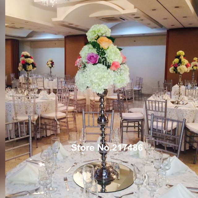 Wholesale beautiful tall metal flower vase sliver paited flower stand wedding  centerpiece for weddings decoration Compare Prices on Tall Flower Vases  Online Shopping Buy Low Price  . Tall Flower Vases For Weddings. Home Design Ideas