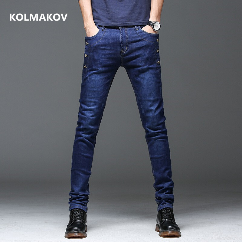 2019 spring New style high quality casual Fashion Classics business   Jeans  ,men's Denim Pants ,Casual   jeans   men size 28-36