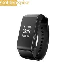 Goldenspike M8 умный Браслет Talk Band гарнитура Bluetooth Поддержка Шагомер Браслет сна Мониторы для Android IOS Телефон