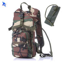 With 2.5L Hydration Water Bag Outdoor Riding Backpack Sport Bag 3P Tactical Military Oxford Cycling Running Rucksack Camelback