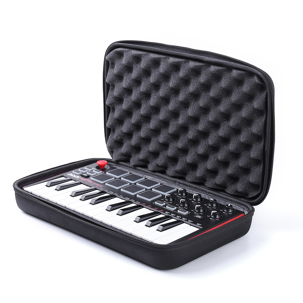 25-key Ultra-portable Usb Midi Drum Pad&keyboard Controller Modern Design Hard Travel Case For Akai Professional Mpk Mini Mkii &mpk Mini Play Phone Bags & Cases