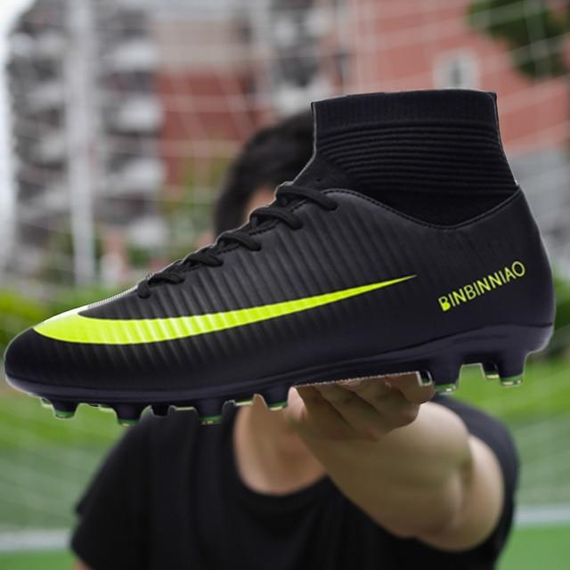 f3010d8d Barato TF y picos largos Futsal botas de fútbol zapatillas hombres fútbol  barato Original fútbol con