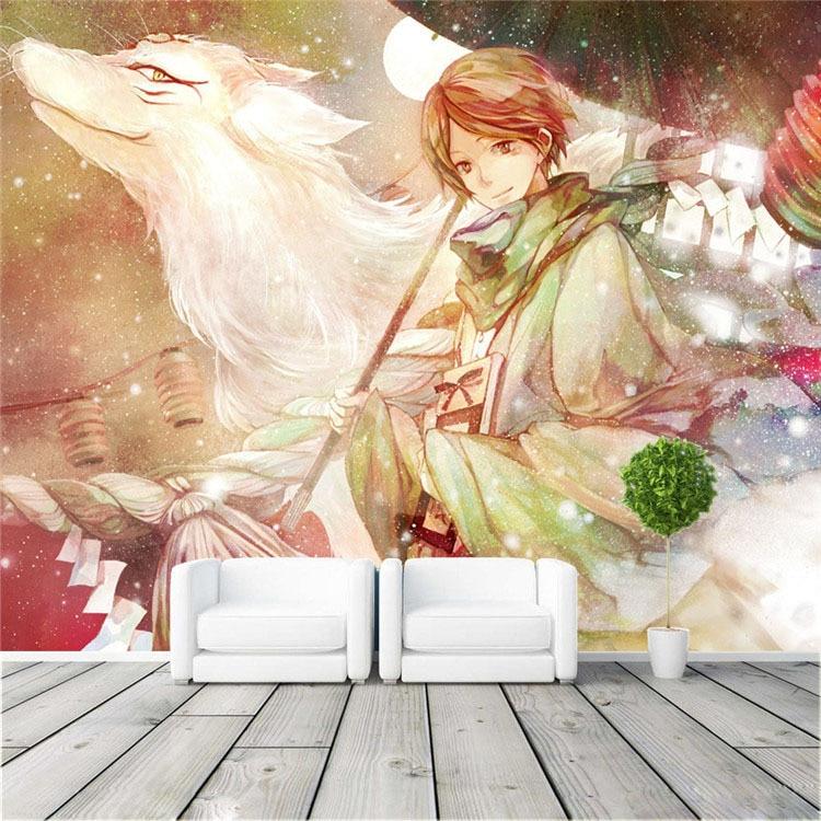 3D Natsume Friend Account 241 Japan Anime Game Wallpaper Mural Poster Cartoon