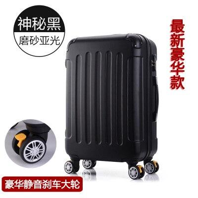 Дорожный Чехол для чемодана на колесиках 20 дюймов, чехол на колесиках, женский косметический чехол, сумка для переноски, дорожные сумки - Цвет: luggage