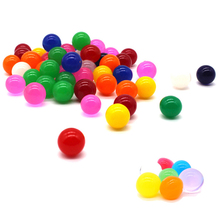 100pcs Large Water Beads 10-12mm Hydrogel Filler Big Growing Water Balls Beads Water Beads Aqua Soil Home Decorative Crystals