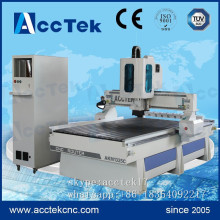 High speed AccTek ATC  wood cnc sculpture machine, linear wood cutting machine