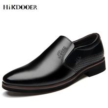 New Arrival Men Dress Slip On Shoes Pointed Toe Leather Flat Shoes Top Quality  Formal Wedding Basic Shoes zapatos de hombre heinrich the new listing brand luxury genuine leather men shoes pointed toe hasp male wedding dress shoes zapatos de hombre