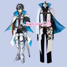 Fate/EXTELLA LINK saber Charlemagne Charles the Great Gamble suit cosplay costume coat+T-shirt+pants uniform outfit