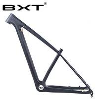 29er карбоновая рама BSA Дисковый Тормоз MTB рама 29 карбоновая горная велосипедная Рама 142*12 или 135*9 мм велосипедные рамы