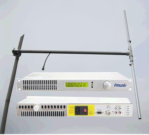 100 Вт Fm-передатчик для FM Радиовещание Станция FSN-100B + 1/2 волна дипольной антенны КОМПЛЕКТ