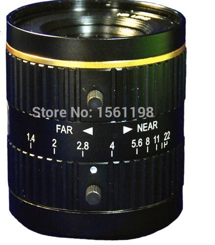 5 Mega Pixel C Mount 35mm 2/3 FA / Machine Vision fixed focal length lenses 35mm 3mega pixel c mount 2 3 fa machine vision fixed focal length lenses industrial camera manual aperture lens