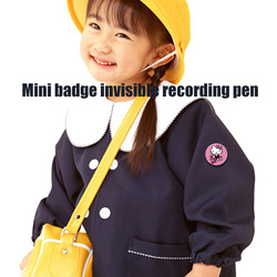 2018 new mini Q3 Intelligent noise reduction digital recorder Badge HD clear zero noise recorder Support voice automatic record