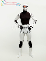 High Quality Halloween Carnival Party Gundam Lycra Spandex Multicolor Zentai Suit