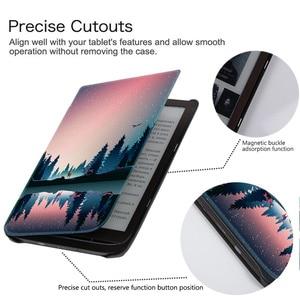 Image 3 - Étui AROITA pour 7.8 pouces PocketBook 740 InkPad 3 e Book (modèle PB740), couverture de coque intelligente de mode légère avec