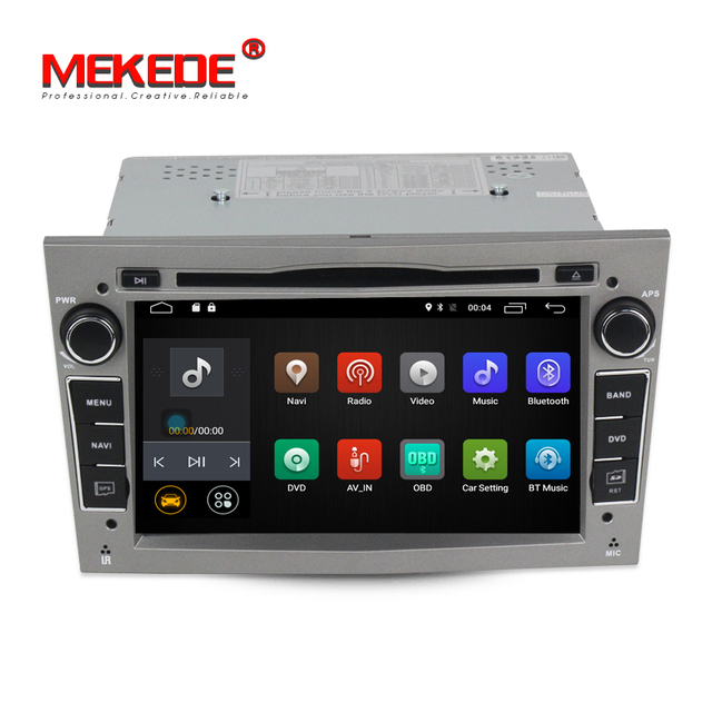 2G RAM 16G ROM Quad Core Android 7.1 Car DVD radio Player Opel for Astra H Combo Corsa Meriva GPS Navigation Radio WIFI 4G lte