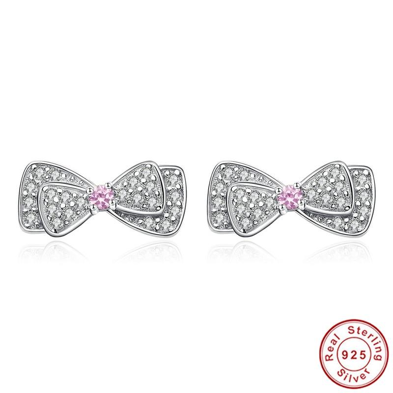 b39e4319a4bc 100% 925 plata esterlina lindo Pendientes de broche para niños Niñas  joyería niños
