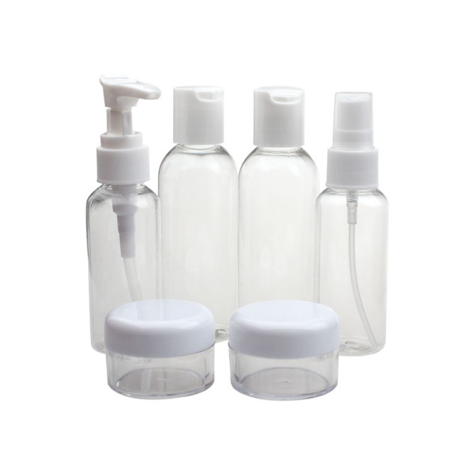 Travel Cosmetic Bottle Set of 6
