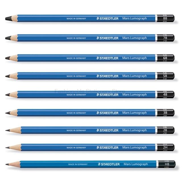 12 Pcs Staedtler 100 Gambar Pensil Pensil Sekolah Peralatan Kantor