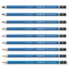 12 pcs STAEDTLER 100 연필 드로잉 연필 학교 편지지 사무 용품 스케치 연필 학생 미술 공급 H 9H/B 9B/HB