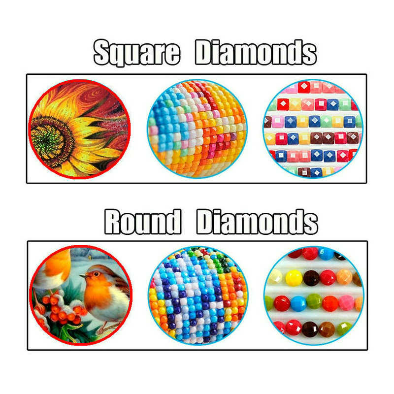 5D DIY スクエア/ラウンドダイヤモンド塗装スタートレッククロスステッチダイヤモンド刺繍 UFO 宇宙船パターン家の装飾 WG962