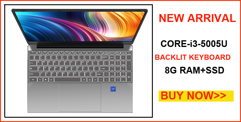 YEPO Notebook Computer 15.6 inch 8GB RAM DDR4 256GB/512GB SSD 1TB HDD intel J3455 Quad Core Laptops With FHD Display Ultrabook 1