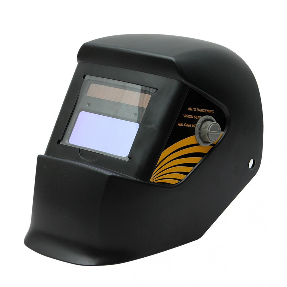 Black Solar Auto Darkening Electric Welding Mask/helmet/welding Lens for Welding Machine OR Plasma Cutter