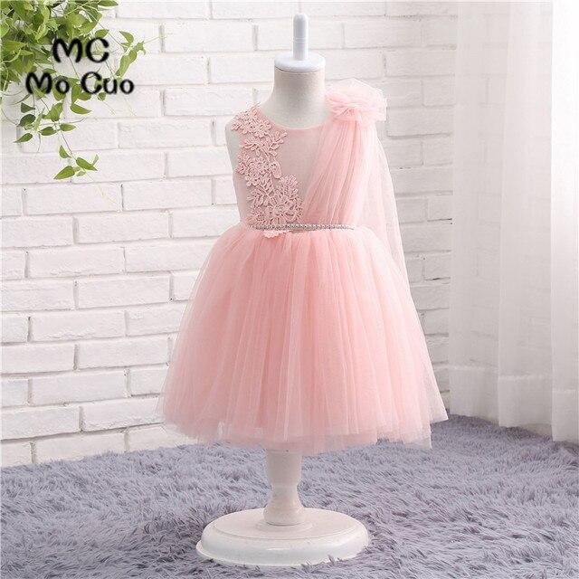 Blush pink flower girl dresses ball gown tank bow tulle wedding blush pink flower girl dresses ball gown tank bow tulle wedding pageant first communion dresses for mightylinksfo
