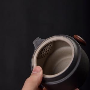 Image 2 - TANGPIN japanese ceramic teapot gaiwan teacups handmade portable travel office tea set