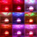 1 Pc Oceano Diamante Colorido Lâmpada de Projeção Luz Conduzida Da Noite Com Speaker Partido Popular NewBrand New