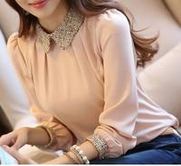 Female Blouses Roupas Blusas Femininas Blusa Camisa Autumn Winter Fall Tops Women Shir Plus Size 2XL