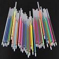 36 Colors Gel Ink Pen refills Rollerball Refill Pastel Neon Glitter Sketch Drawing Copic Markers Marker Manga Aquarela Capinhas