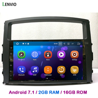 Lenvio 2GB RAM Android 7.1 CAR GPS Navigation For Mitsubishi Pajero V97 V93 2006 2007 2008 2009 2010 2011 Quad Core CAR DVD WIFI