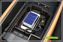 Para BMW 5 SERIES G30 2017 2018 Interior Del Coche Apoyabrazos Guantera Caja de Almacenamiento de Particiones Bandeja car styling