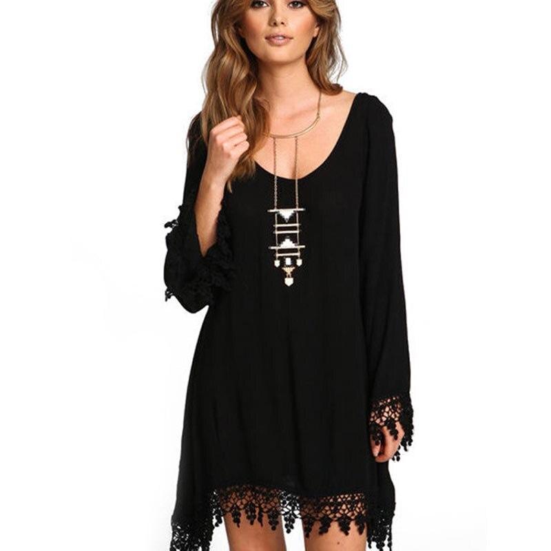 Women Casual Dress Summer Beach Style Sexy Spaghetti Strap Backless Sling Chiffon Dress Loose Wavy Sling Vestdiaos