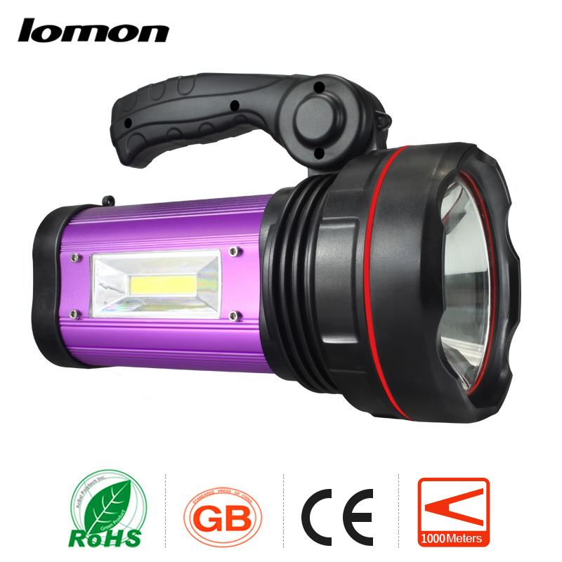 Rechargeable LED Spotlight LED Handle Searchlight CREE XML T6 Flashlight 1000 Lumens Handheld Searchlight+Charger Camping Light sitemap 139 xml