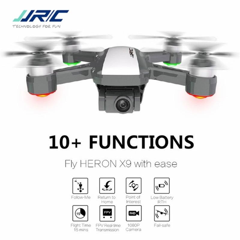 В наличии JJRC X9 5G бесщеточный Wi-Fi FPV Радиоуправляемый Дрон-1080 P HD Камера gps оптического потока позиционирования высота Удержание следовать ...
