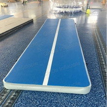 10*2*0.2 meters by hand inflatable jumping mat inflatable gym mat gymnastics professional air track
