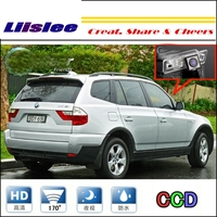 Liislee Car Camera For BMW X3 E83 2003~2010 rearview Rear View Back Up Camera For PAL NTSC to Car Tuning CCD RCA Connector