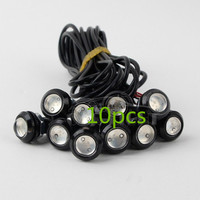 10 X 9W 18mm 12V 24V Blue LED Eagle Eye Light Car Fog DRL Daytime Reverse