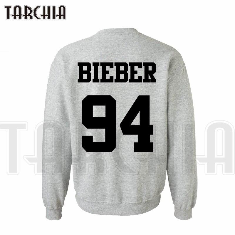 TARCHIA New Brand Free Shipping Hoodies Sweatshirt Back Cool Print Bieber 94 Men Casual Parental Homme Boy Big Sale Hot Selling