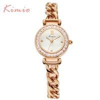 2016 Kimio luxe mode féminine montres Quartz bracelet bracelets Twisted conception diamant femmes dames montres avec boîte - cadeau