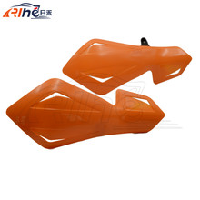 new arrival motorcycle parts ABS plastic hand guards orange color motorbike ATV hand guard handguards 22mm handlebar 5 colors