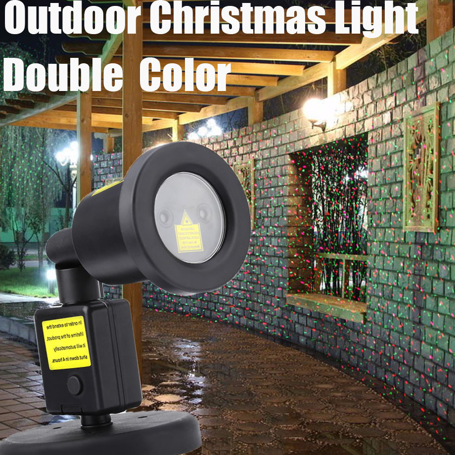 Static Christmas Star Projector Laser Light Outdoor Waterproof Stage Light For Holiday Party Garden Bar Home Decoration laser shower waterproof outdoor laser light projector christmas holiday twinkling star lights garden decorations for home