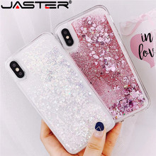 JASTER soft lovely phone case for iPhone 6 6S 7 8 78 Plus 11 11PRO MAX  Liquid Quicksand X XS XR Cases